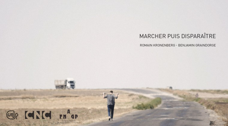Romain Kronenberg, 'Marcher puis disparaître', in association with Benjamin Graindorge, 2014