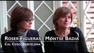 Interview with Montse Badia and Roser Figueras, Cal Cego, Barcelona [Spanish]