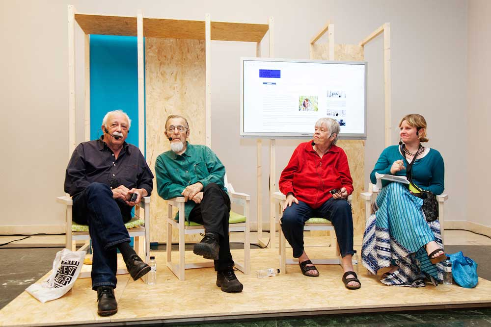 LOOP Talks 2017: Steina and Woody Vasulka in conversation with Kristin Scheving and Don Foresta