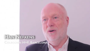 Interview with Han Nefkens,  H + F Collection, Barcelona [Spanish]
