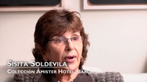 Interview with Sisita Soldevila, Colección Ámister Hotel, Barcelona [Spanish]