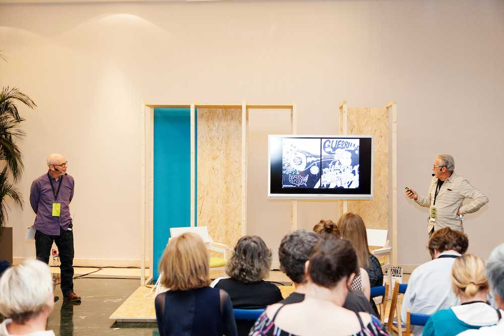 LOOP Talks 2017: Chip Lord en diálogo con Steve Seid