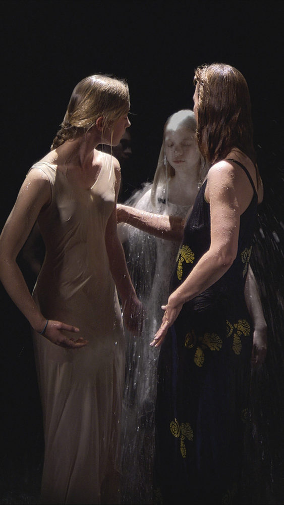 Bill Viola. Mirrors of the unseen