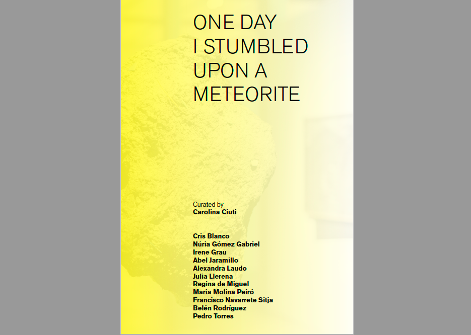One Day I Stumbled Upon a Meteorite